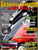 GarageBoyz Magazine featuring cars,bikes,tattoos and other kool stuff